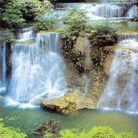 Чианг Рай. Водопад.