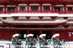 Экскурсия по Сингапуру на велорикшах