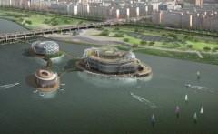 Плавучий остров в Сеуле