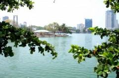 Зловонное озеро новая туристическая зона Шри-Ланки