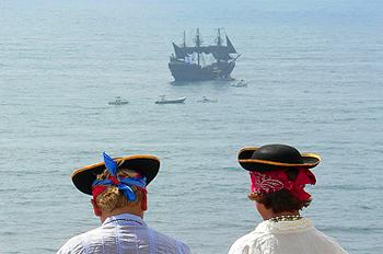 Пиратский лагерь для юных разбойников в Китае