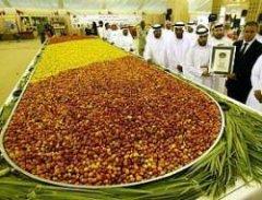 Финиковый фестиваль в Абу-Даби