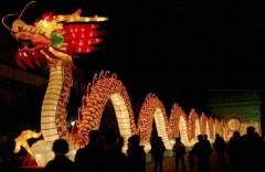 Танце огненного дракона