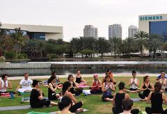 Yoga Fest в Дубае