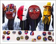 Международный фестиваль танцев в масках в Андоне