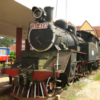 Винтажная железная дорога во Вьетнаме