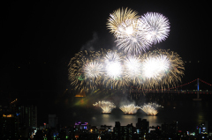 Международный фестиваль фейерверков в Пусане